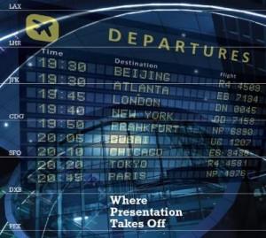 Where Presentation Takes Off