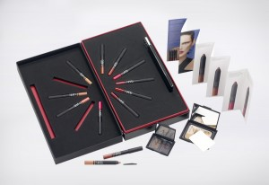 PR and product launch. A selection of the new Nars range was presented in this luxury presentation pack and distributed to the magazine writers for editorial.